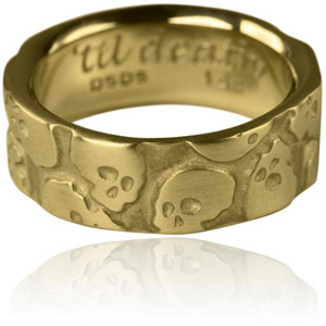 Multi Skull Wedding Ring