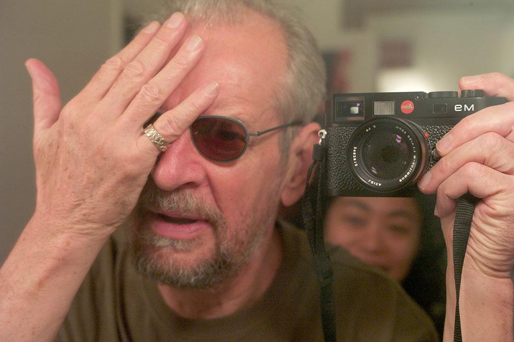 Larry Clark self portrait