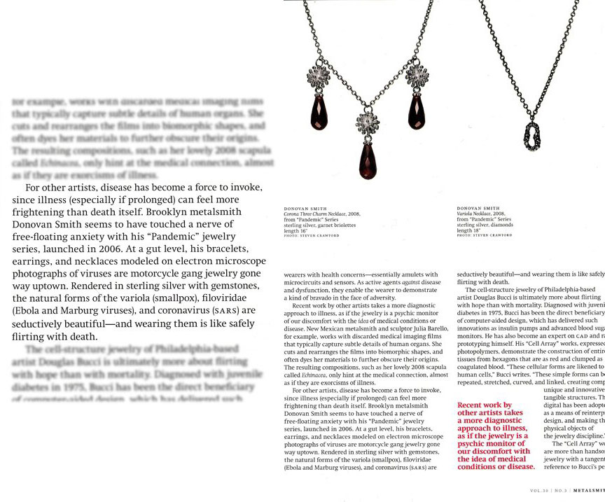 Metalsmith magazine june 2010