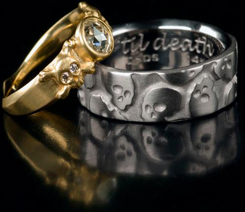 'til death skull rings